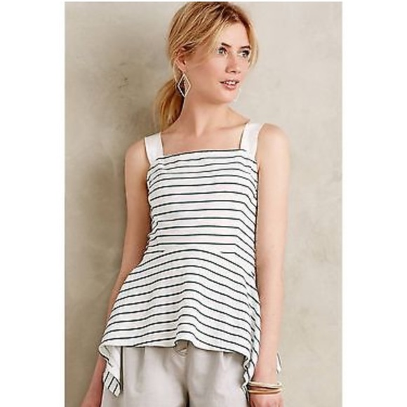 Anthropologie Tops - Anthropologie Deletta Striped Top Never Worn